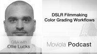 DSLR Filmmaking Color Grading Workflows