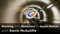 Working with Behaviors Inside Apple Motion