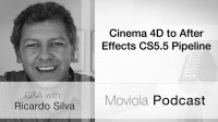 Cinema 4D to After Effects CS5.5 Pipeline