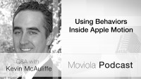 Using Behaviors Inside Apple Motion