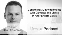 Controlling 3D Environments with Cameras and Lights in After Effects CS5.5