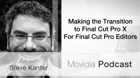 Making the Transition to Final Cut Pro X For Final Cut Pro Editors