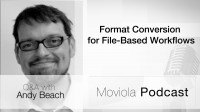 Format Conversion For File Based Workflows