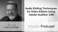 Audio Editing Techniques For Video Editors Using Adobe Audition CS6