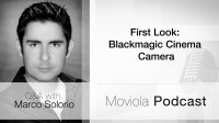 First Look Black magic Cinema Camera