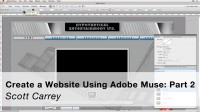 Create a Webiste Without Writing Code Using Adobe Muse: Part 2