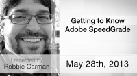 Getting to Know Adobe Speed Grade
