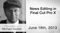 News Editing in Final Cut Pro X