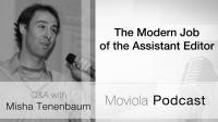 The Modern Job of the Assistant Editor: Misha Tenenbarum Q&A