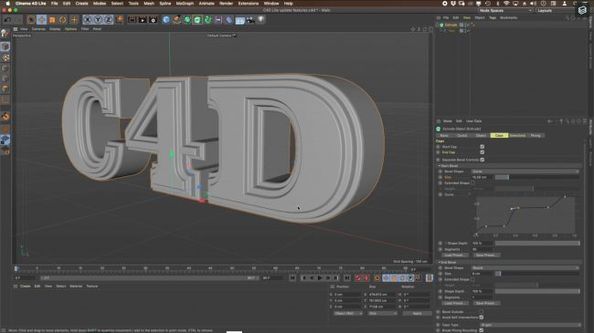 Cinema 4D Lite 2020 New features 1