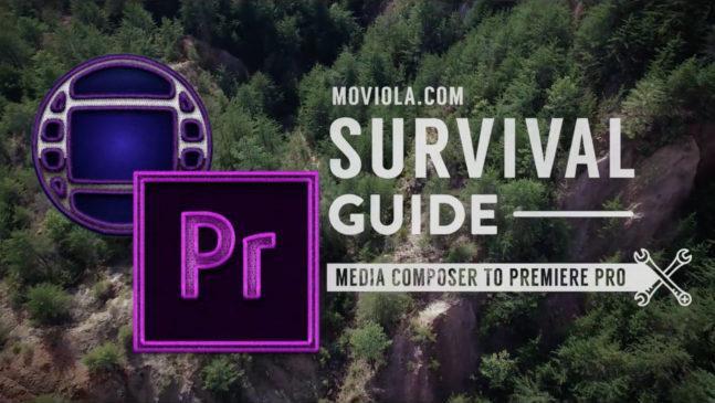 Premiere Pro for AVID Media Composer Editors 1